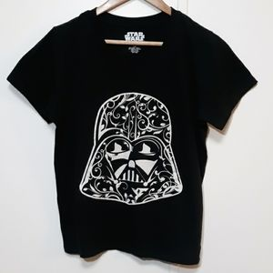 Star Wars Adult Black T-Shirt